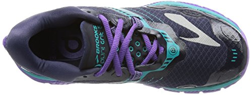 Brooks PureGrit 5, Zapatillas de Running Para Mujer Multicolor (Peacoat/Passion Flower/Ceramic)