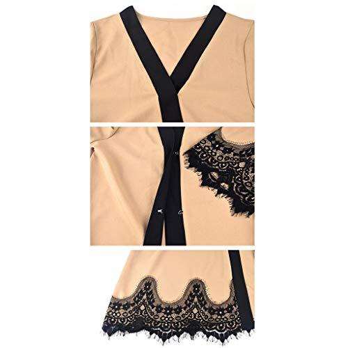 NPRADLA Large Falda Elegante Vestido de Abaya musulmán ...