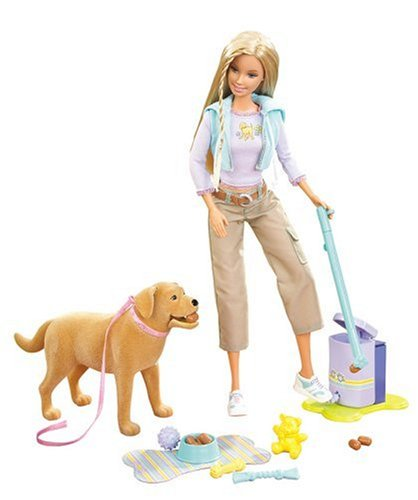 Barbie Forever Barbie Doll with Tanner the Dog (Dog Poop Costume)