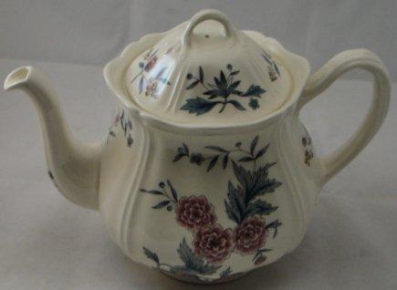 Wedgwood Williamsburg Potpourri Tea Pot & - Potpourri Wedgwood