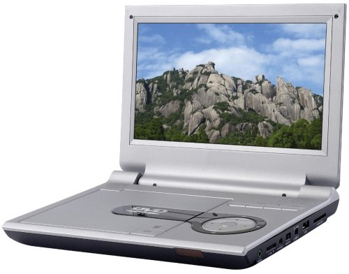 (Sylvania SDVD9000 9-Inch Portable DVD Player (Silver))