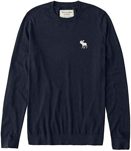 クルーネックセーター Icon Crew Sweater Navy ネイビー [並行輸入品]