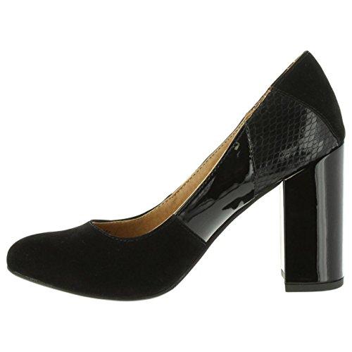 Originals Mujer Mtng Tacón Zapatos Negro 61295 Para De AqxdaYq