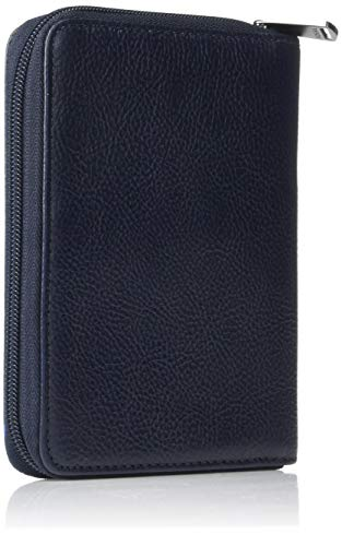 "41O7OTTG%2BaL - Fossil Men's Zip Passport Case ,Midnight Navy,6""L x 0.75""W x 4.5""H"