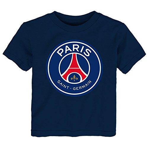 Outerstuff International Soccer Paris Saint Germain Toddler Team Logo Short  Sleeve Tee 927831a87