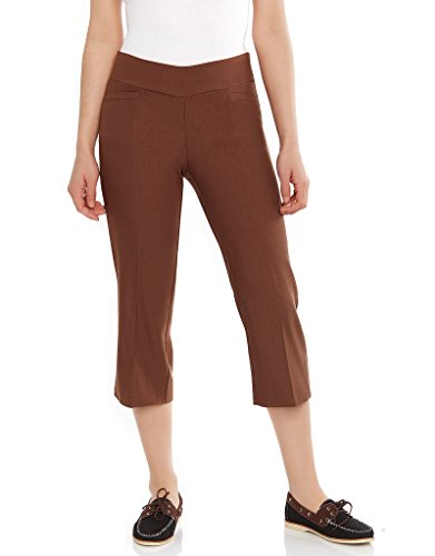 Women's Dress Capri Coffee, 16