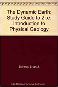 dynamic earth study guide Dynamic earth processes (standards: es3 a-e)  students know the evidence from geological studies of earth and other planets suggests.