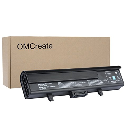 OMCreate Laptop Battery for Dell XPS M1530 / Dell XPS 1530 , fits P/N TK330 RU006 GP975 XT828 XT832 RN897 RU028 RU030 RU033 - 12 Months Warranty [6-Cell (Dell Xps M1530 Battery Life)