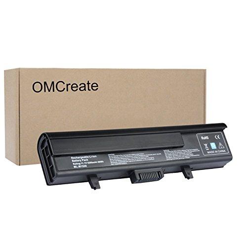 OMCreate-Laptop-Battery-for-Dell-XPS-M1530-Dell-XPS-1530-fits-PN-TK330-RU006-GP975-XT828-XT832-RN897-RU028-RU030-RU033-12-Months-Warranty-6-Cell-Li-ion