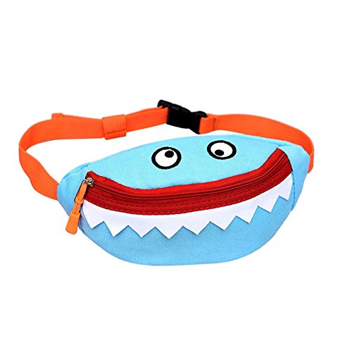 Mini Cute Cartoon Waist Bag Shoulder Crossbody Bag Monster Fanny Pack Phone Wallet for Kids
