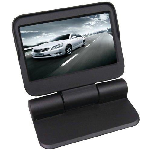 Crimestopper 4.3-Inch Motorized Dash Board Mount LCD Monitor (SV-9142.MDM) by Crime Stopper