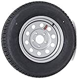 TASKMASTER CONTENDER 205/75/R14 Silver Mod Trailer Wheel Assembly