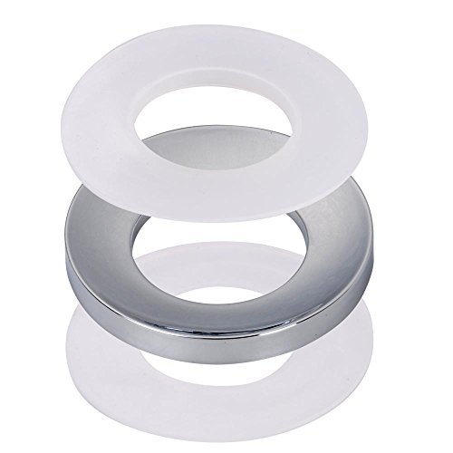 Yescom New Chrome Mounting Ring For Home Bathroom Glass Vessel Sink Drain Mount Support by Yescom -