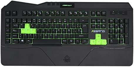 Keep Out Gaming F89PRO - Teclado Gaming, Color Negro: Amazon ...