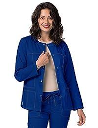 Adar Pop-Stretch Junior Fit Taskwear Topper Jacket - 3208 - Royal Blue - XXS