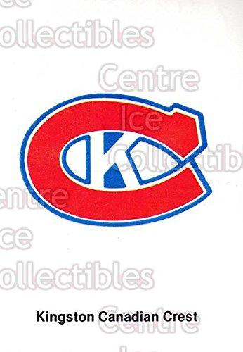 (CI) Kingston Canadians, Checklist Hockey Card 1985-86 Kingston Canadians 5 Kingston Canadians, - Shops List Kingston