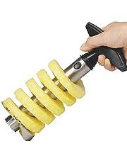 ادوات تقطيع - قشارة اناناس من كوين تايم لتقطيع الفواكه من الستانلس ستيل متعددة الوظائف من ادوات المطبخ للفواكه والخضراوات