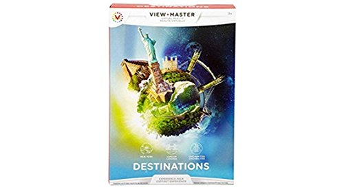View Master Virtual Reality Destinations Experience Pack
