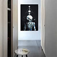 Colourful Retro Mass Effect Andromeda Canva Painting No Frame Wall Display@@