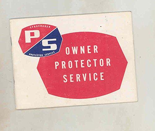 1965 Studebaker Commander Wagon Owner Protection Service Coupon Brochure - Studebaker Wagon