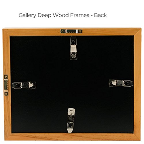 Ambiance Gallery Wood Picture Frame for Stretched Canvas, Artist Panels and Art Boards [Single Frame] 20x24'' - Natural by Ambiance Framing (Image #4)