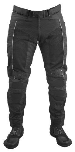 Roleff Pantalones para Motorista Racewear XL Negro