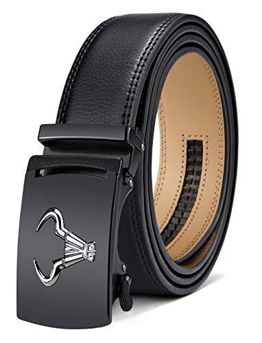 Men's Belt,Bulliant Branded Ratchet Belt Of Genuine Leather For Men Dress,Size Customized.