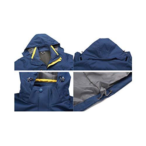 Giacca Giacca Giacca Uomo Antivento Caldo Impermeabile Da Outdoor militarygreen Sport Staccabile Tendenza Moda XDLJL TawxdBT