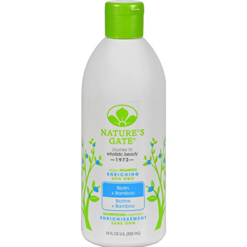 and Bamboo Enriching Shampoo (Natures Gate Strengthening Shampoo)