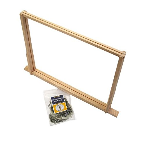 10 x National Bee Hive 14 x 12 Hoffman frames - with pins Simon The Beekeeper