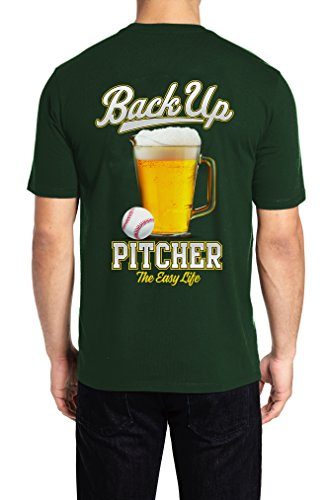 T-shirt Team Green Dad (The Easy Life Baseball Dad Shirt, T-Shirts for Men Graphic, Softball Dad Funny Shirts for Dad)