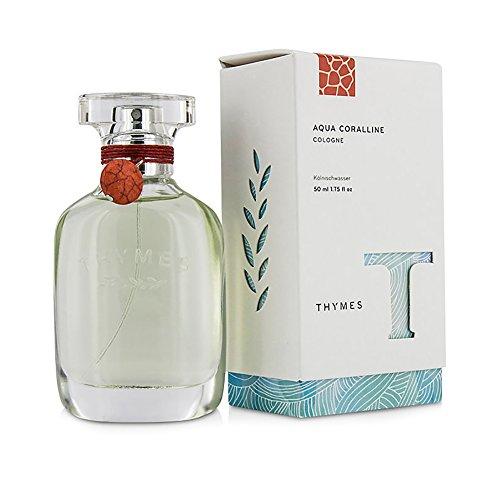 Thymes - Aqua Coralline Cologne - Refreshing Beach Fragrance for Men & Women - 1.8 oz