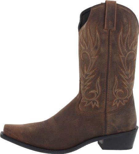 Laredo Men's Willow Creek Boot,Tan Crazyhorse,8.5 D (M) US