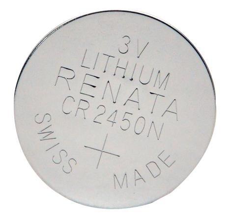 CR2450N Lithium Battery 3v 550 mah