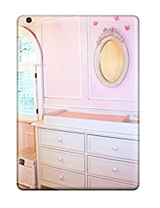 Cute Appearance Cover/tpu XQDJmfp12961rySvT Changing Table In Pink Baby Girl Nursery Case For Ipad Air