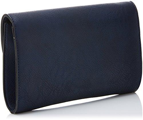 Smart Blue Leather Lisa Swankyswans navy Pochettes Bleu Faux 5ZvCqwx0
