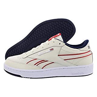 Reebok Club C Revenge Plus Shoe - Men's Casual Chalk/Navy/Red/White