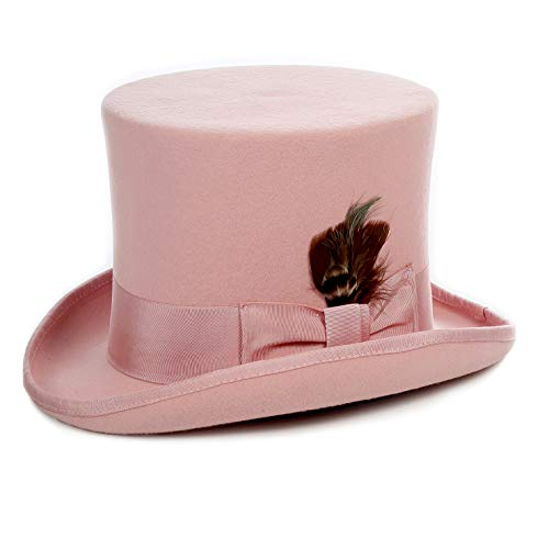 Ferrecci L Pink Top Hat]()