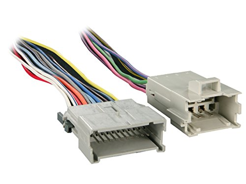 Metra 70-2054 Factory Amplifier Bypass Harness for Select 1998-2007 GM (Aftermarket Radio Wiring Harness)