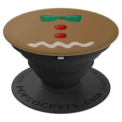 Gingerbread Man Christmas Couple Group Costume Gift - PopSockets Grip and Stand for Phones and Tablets -
