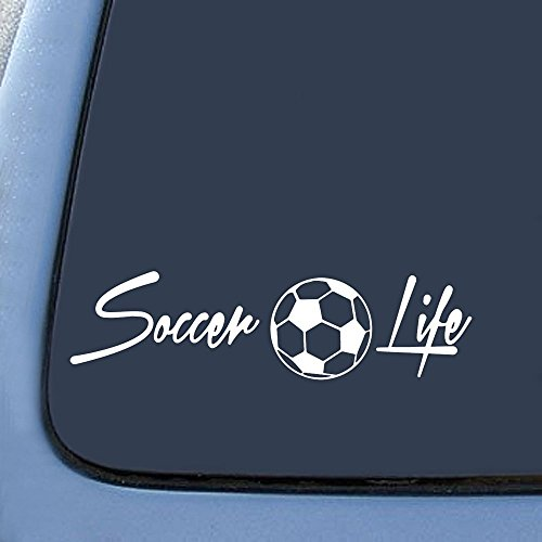 Soccer Life Family Sticker Decal Notebook Car Laptop 6