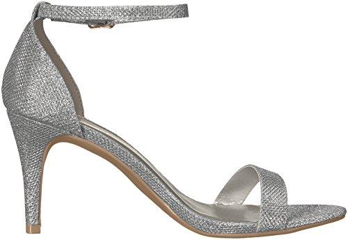Dream Pairs Women's Jenner Dress Pump Silver Glitter E4Wy9d