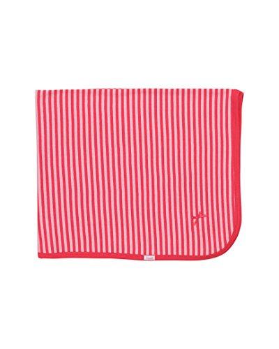 Coccoli Girls' Pink/Dark Pink Stripe Cotton Blanket, O/S