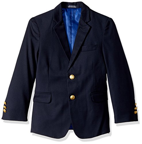 Nautica Little Boys' Navy Blazer, Dark Blue, 6