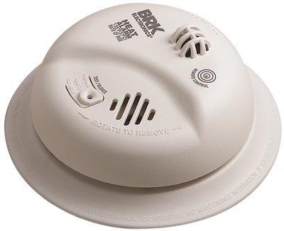 First Alert HD3135FB Heat Alarm, Ac with 9V Backup, 135 Degree, Plastic, 1