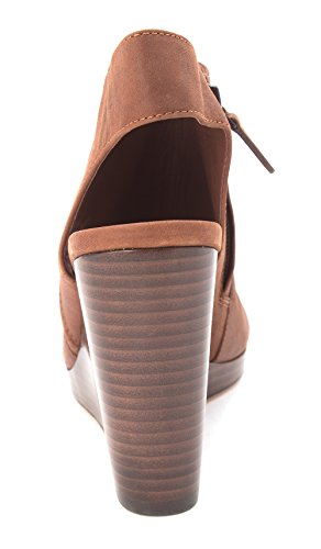 Cole Haan Womens 14A4162 Open Toe Ankle Strap Mules Harvest Brown eE4Eyu