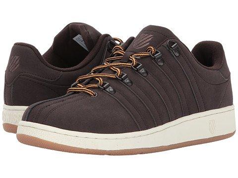 (ケースイス) K-Swiss メンズテニスシューズスニーカー靴 Classic VN SE [並行輸入品] B0753WWK2Z 31.0 cm D - M Black Coffee/Antique White