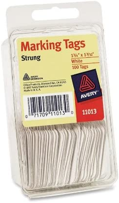Avery Strung Marking Tags 100ct Avery 6732 6 pack