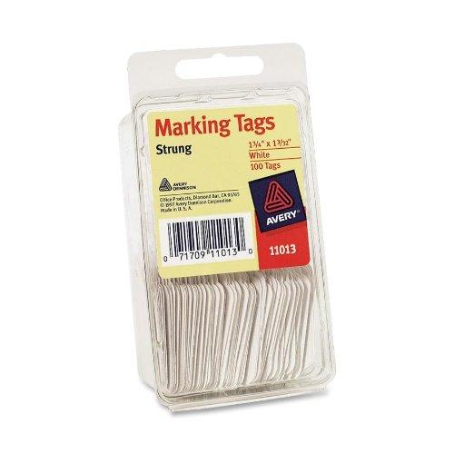 Avery Marking White Strung 11013