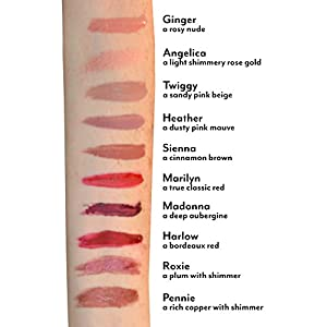 Stay Put Matte Lip Cream | Kiss-Proof Matte Lipstick - Paraben Free - Marilyn, a true classic red